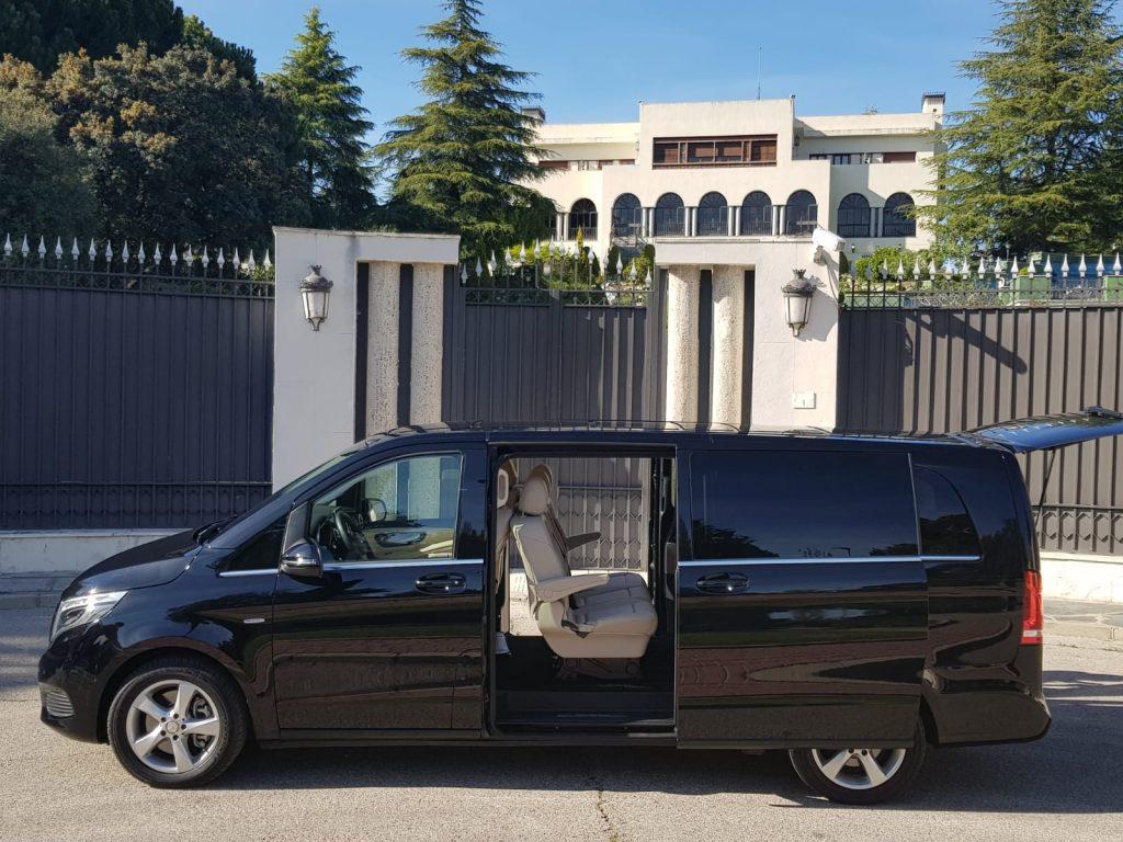 Flota Alompe Minivans Mercedes